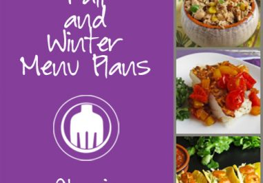 Fall & Winter Menu Plans