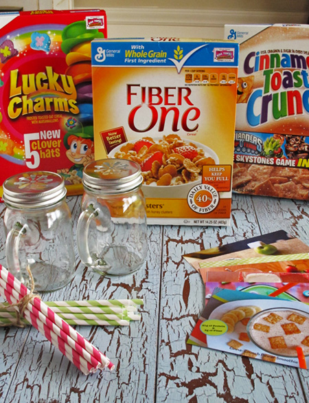 Smoothie Cereal Giveaway Box
