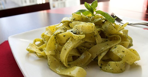 This is an amazing pesto recipe and great for using up any fresh basil in the garden.