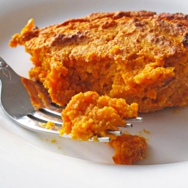 Roasted Carrot Souffle