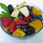 Fruit Salad - use whatever types of fruit your family likes!