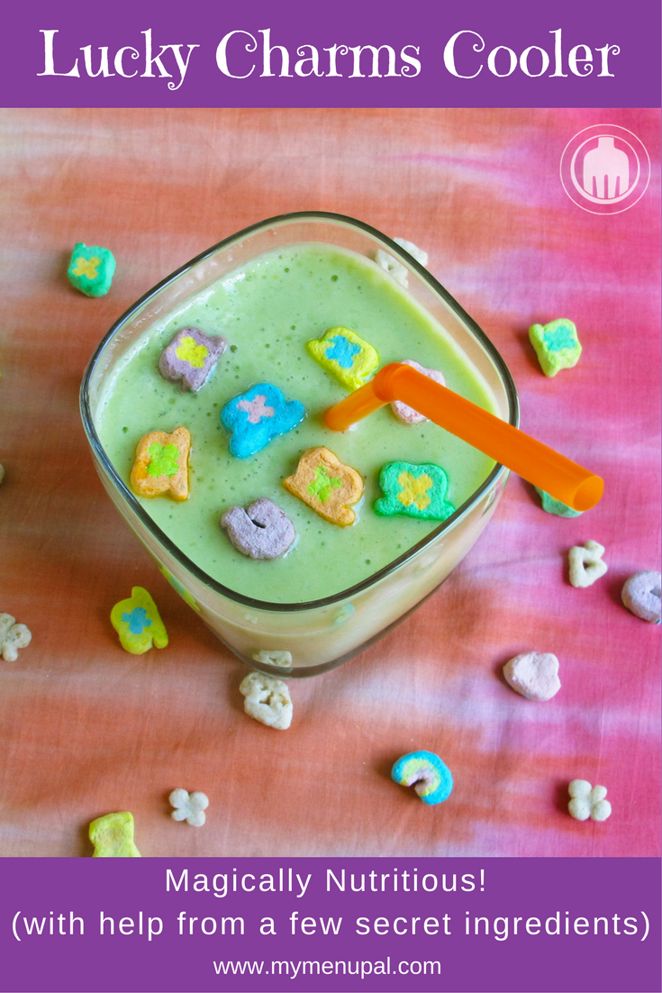 Our Lucky Charms Cooler is magically nutritious with the help of a few nutrient-boosting ingredients that will make everyone happy!