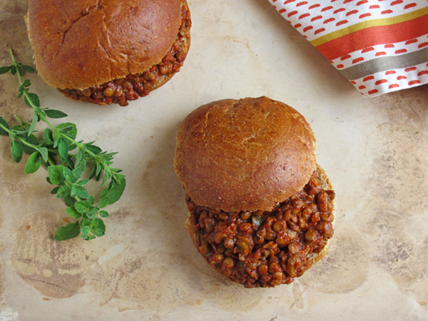 Lentil Sloppy Joe's - a family favorite
