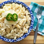 Cauliflower & Jalapeno Mac and Cheese - lighten up this all-time favorite comfort food by using cauliflower as a part of your cheese sauce.