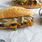 Roast Beef and Provolone Sandwich - made with our Slow Cooker Balsamic Beef