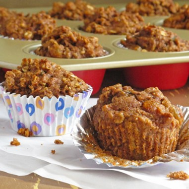 Apple Carrot Muffins - perfect for when you have company in town!