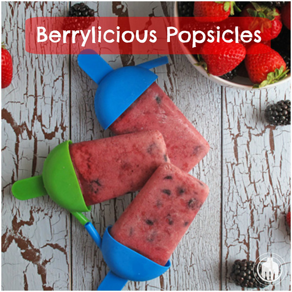 Berrylicious Popsicles