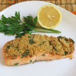 Cracker Crusted Salmon