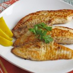 Simple Cumin Crusted Tilapia