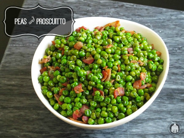 Peas and Proscuitto