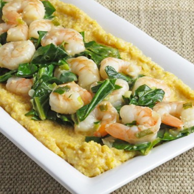 Shrimp Grits and Greens