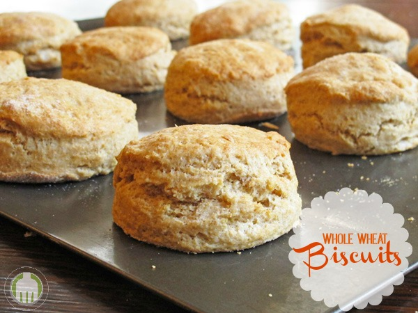 Whole Wheat Biscuits - so good and flaky your family won't even notice they are whole wheat