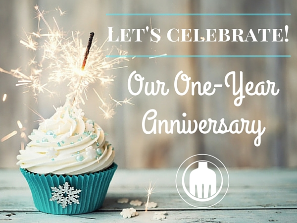 Celebrate our one year anniversary with 50% off any of our menu plans or eBook with a special coupon code