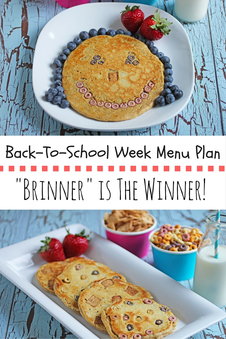 """Brinner"" (aka Breakfast for Dinner) is always a winning choice to bring the kids to the table, especially during the hectic back to school time."