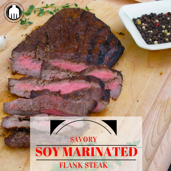An all-time family dinner favorite is what we call our Soy Marinated Flank Steaks!