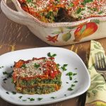 Vegan Spinach and Vegetable Lasagna