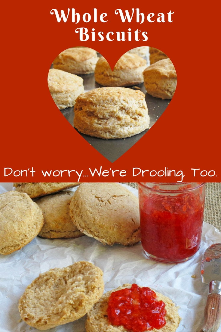 Whole Wheat Biscuits are simple to make and even better to eat - the whole family will gobble them up.