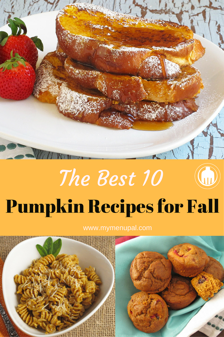 Our Best 10 Pumpkin Recipes - perfect for fall or whenever the mood strikes from breakfast and breads to entrees and snacks