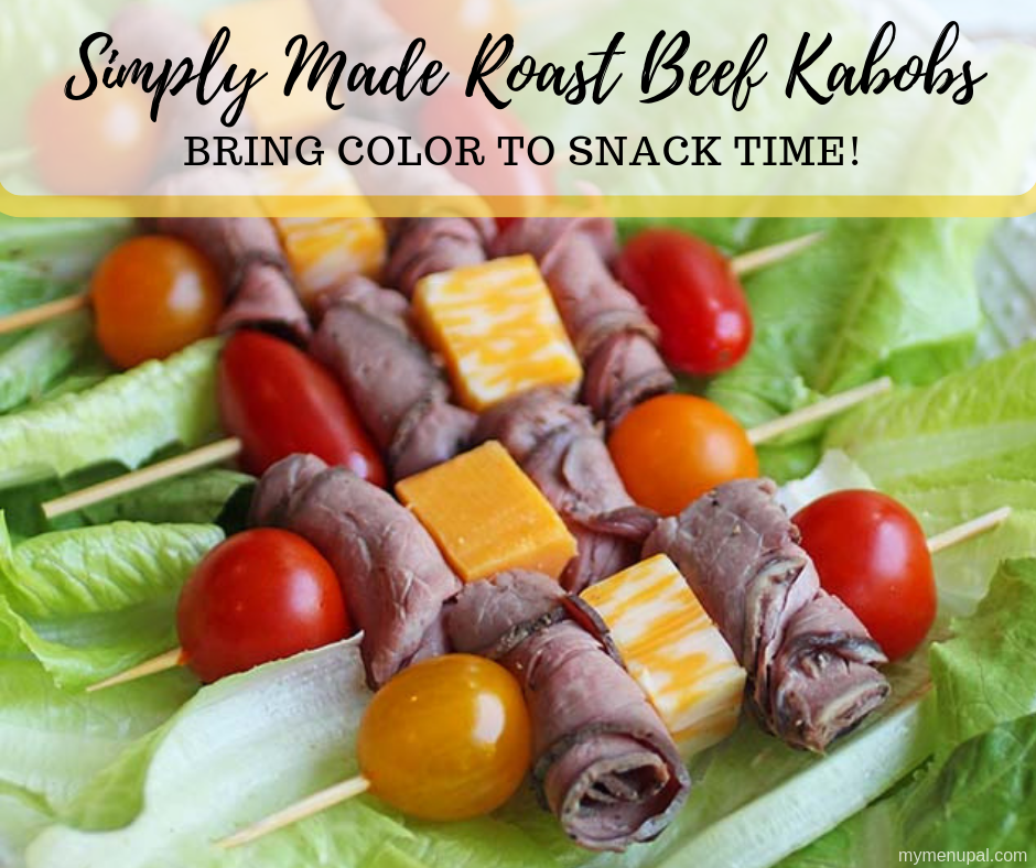 Roast beef kebabs are a simple snack made with grape tomatoes, cheese cubes and roast beef.