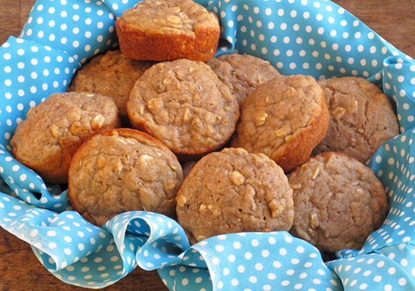 The best banana muffins which are also very versatile to use as a base recipe with other ingredients like blueberries or chocolate chips.
