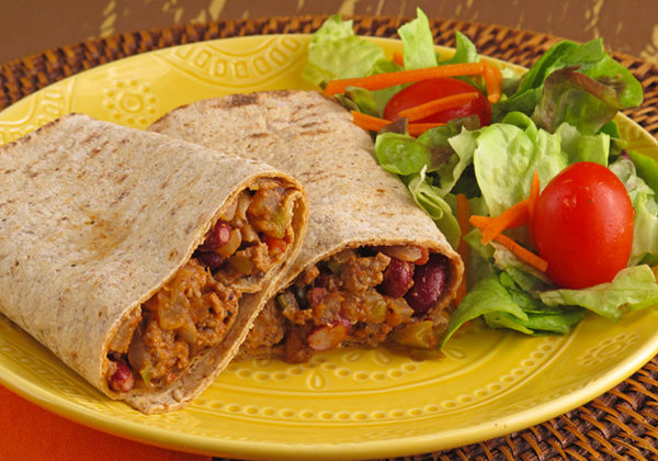 Sloppy Joe Wraps