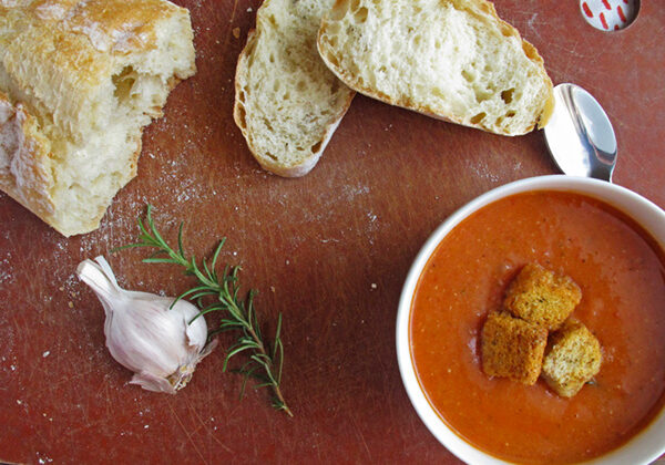 Tomato and White Bean Soup - perfect for the fall/winter soup season!